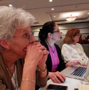 Attentive participants at 2016 Annual Conference.